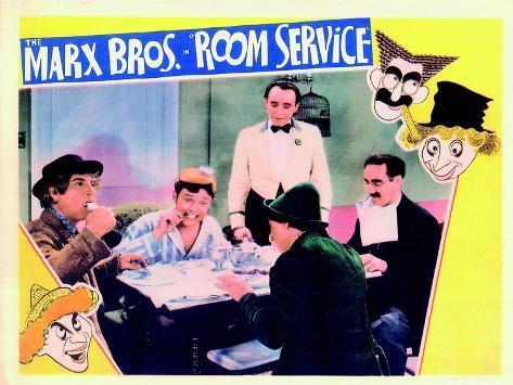 Room Service, 1938 Lámina