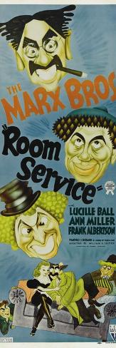 Room Service, 1938 Konstprint