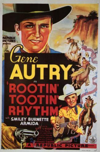 Rootin' Tootin' Rhythm Masterprint