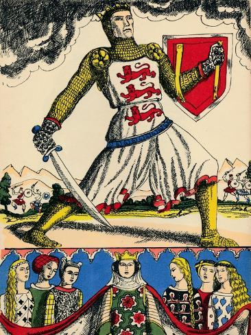 Edward I, King of England from 1272, (1932) Giclee Print