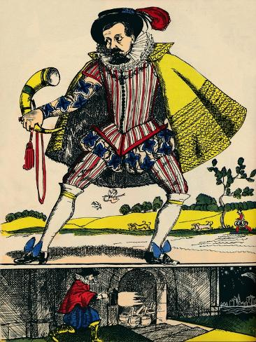 James I, King of Great Britain and Ireland from 1603, (1932) Giclee Print