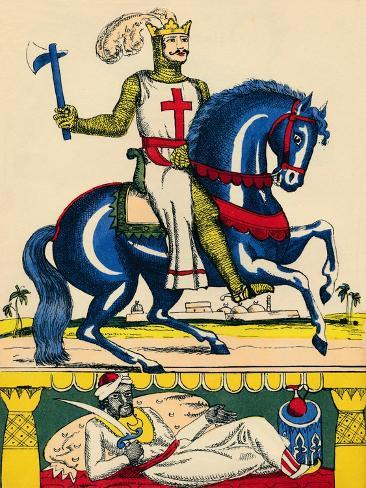 Richard I, King of England from 1189, (1932) Giclee Print