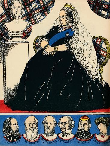 Victoria, Queen of Great Britain and Ireland from 1837, (1932) Giclee Print