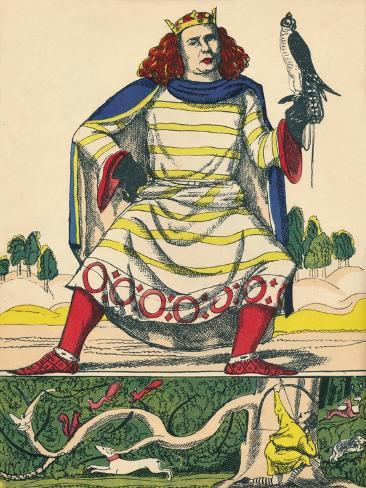 William II, King of England from 1087, (1932) Giclee Print