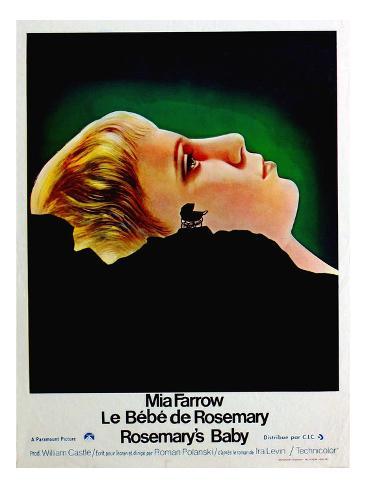 Rosemary's Baby, (aka Le Bebe De Rosemary), Mia Farrow, 1968 Foto