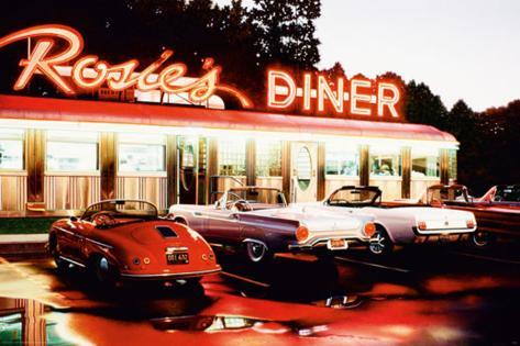 Rosie'S Diner-Colour Poster