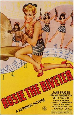 Rosie the Riveter Masterprint