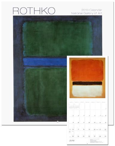 Rothko - 2013 Wall Calendar Calendars