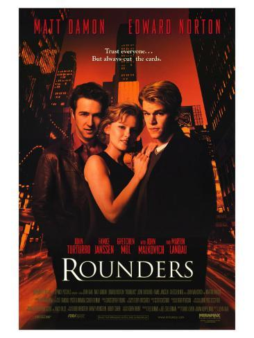Rounders, 1998 Stretched Canvas Print
