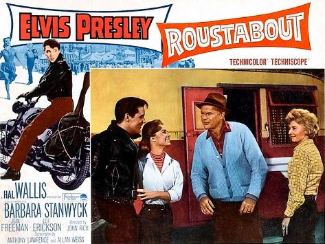 Roustabout, Elvis Presley, Joan Freeman, Leif Erickson, Barbara Stanwyck, 1964 Impressão artística