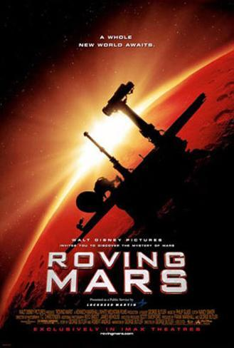 Roving Mars Double-sided poster