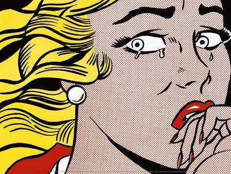 Crying Girl, c.1963 Framed Art Print
