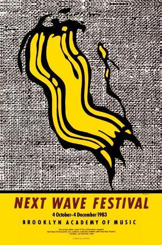 New Wave Festival Framed Art Print