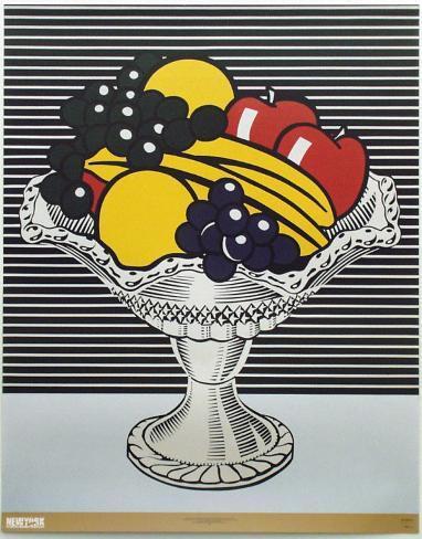 Still Life with Crystal Bowl Framed Art Print