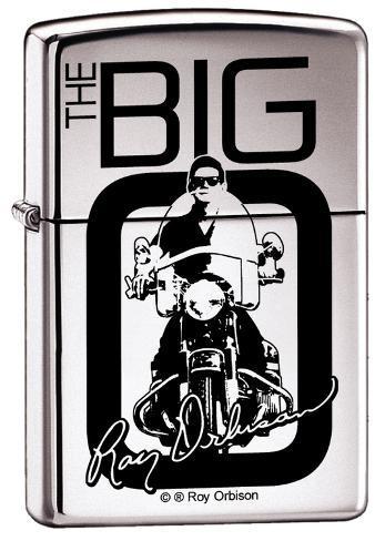 Roy Orbison - High Polish Chrome Zippo Lighter Lighter