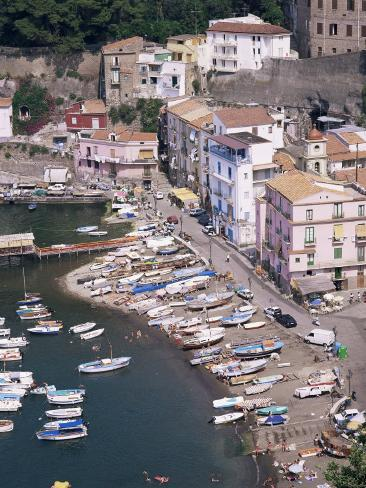 Marina Grande, Sorrento, Costiera Amalfitana, Unesco World Heritage Site Photographic Print