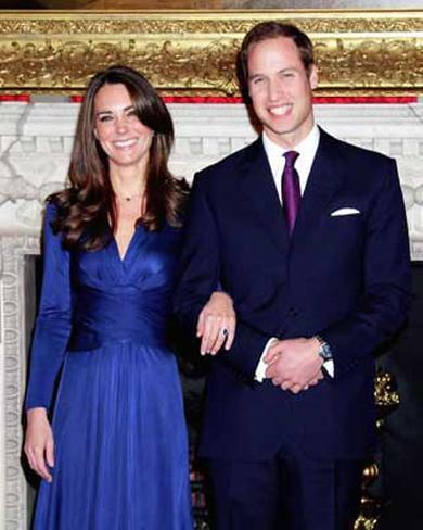 Royal Engagement - Prince William & Kate Middleton Photo
