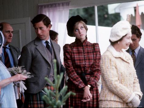 Royal Family at Braemar Gathering Photographic Print