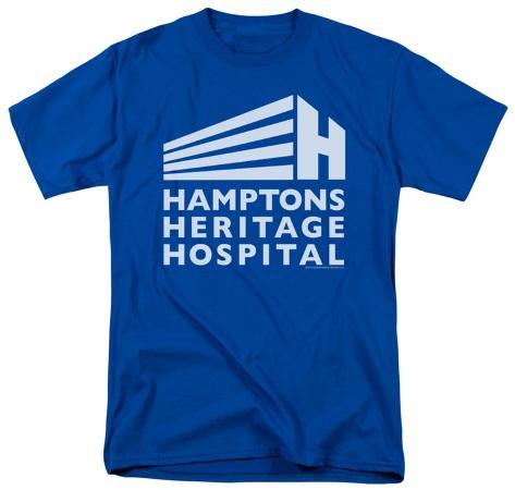 Royal Pains-Hamptons Heritage Logo T-Shirt