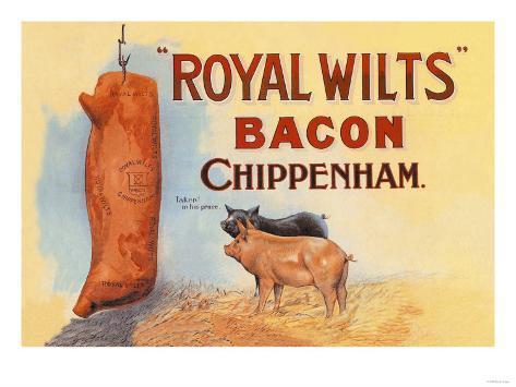 Royal Wilts Bacon Art Print
