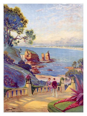 Royan Vallieres Coastal Giclee Print