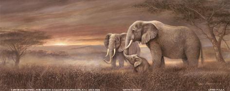 Gentle Giants Art Print