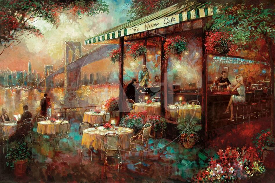 The River Café Láminas por Ruane Manning en AllPosters.es