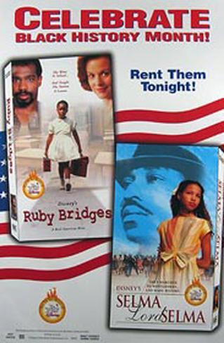 Ruby Bridges/Selma Lord Selma Original Poster