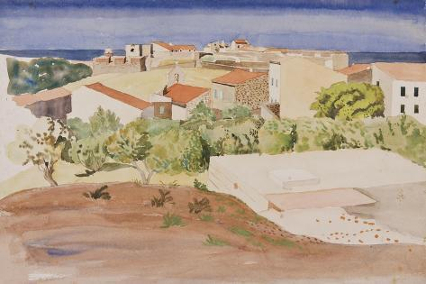 The Roofs of Collioure, C.1925 Giclee Print