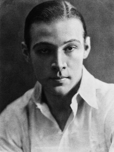 Rudolph Valentino, 1923 Photo