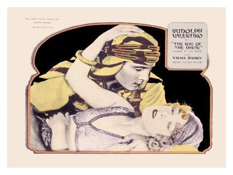 Rudolph Valentino, Son of the Sheik Stampa giclée