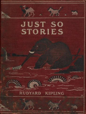 Illustrated Front Cover Showing an Elephant Giclee Print