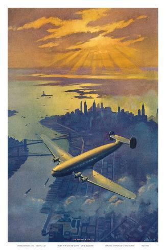 Dawn of a New Day c.1930s Art Print
