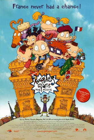 Rugrats In Paris: The Movie Poster double face