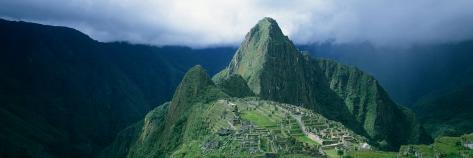 Ruins, Machu Picchu, Peru Photographic Print