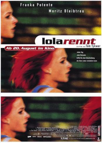 Run Lola Run Masterprint