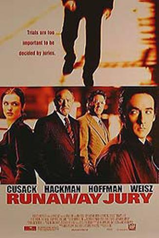 Runaway Jury Double-sided poster
