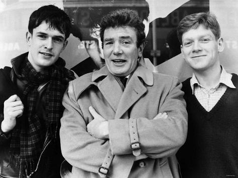 Rupert Everett with Albert Finney and Kenneth Branagh, 1982 Lámina fotográfica