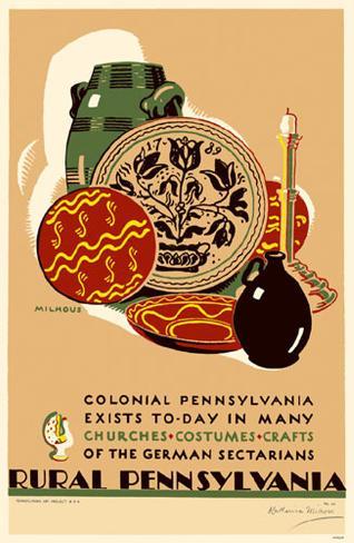 Rural Pennsylvania Masterprint