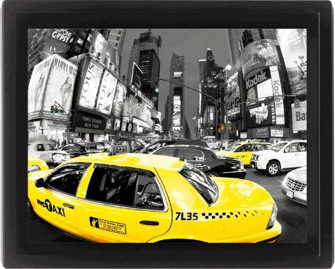 Rush Hour Times Square 3 Dimensional Poster
