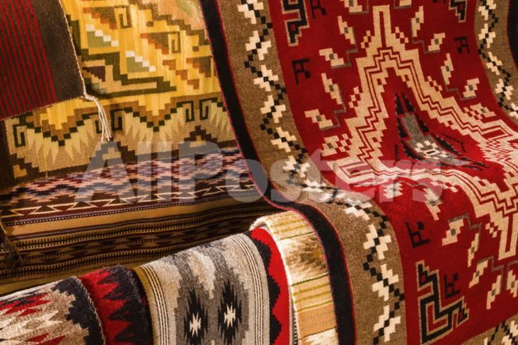 Navajo Rugs Hubbell Trading Post National Historic Site Arizona