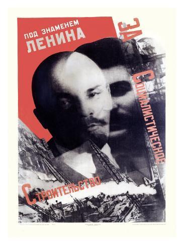 Russian Leaders Giclee Print
