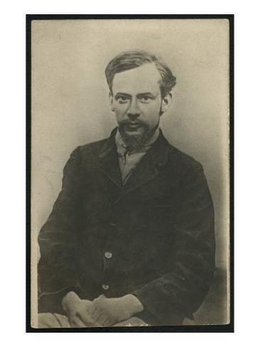 Portrait of Fyodor Mikhaylovich Dostoievsky Giclee Print