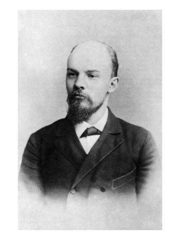 V. I. Ulyanov, St. Petersburg, 1897 Giclee Print
