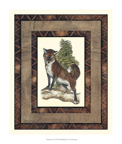 Rustic Fox Giclee Print