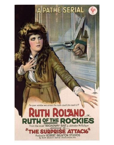 Ruth Of The Rockies - 1920 Giclee Print