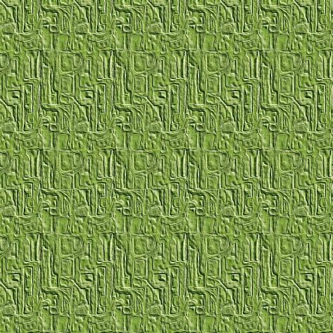 Green Embossed Tile Art Print