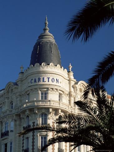 The Famous Carlton Hotel, Cannes, Alpes-Maritimes, Cote d'Azur, Provence, France Photographic Print