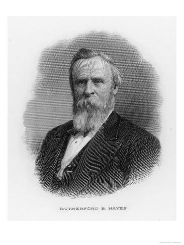 Rutherford Birchard Hayes 19th Us President Giclee Print