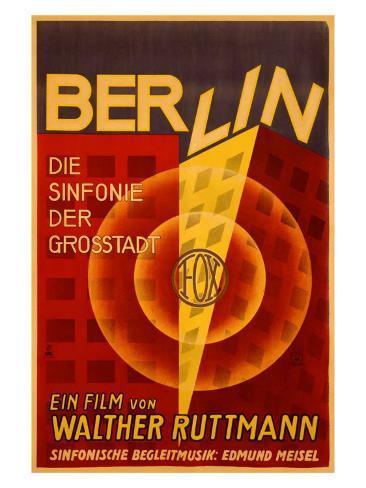 Ruttmann Berlin Symphony of a Great City Giclee Print